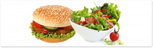 hamburger-and-salad