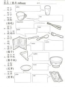 Tableware W