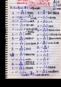 華語筆記323