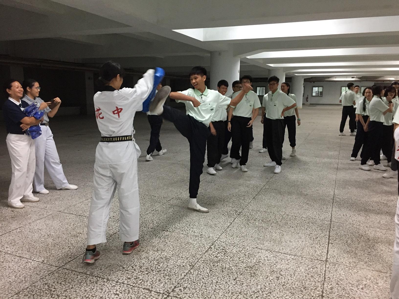 20171128 跆拳道課程體驗
